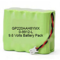 0-9912-l Visonic 1800mah Powermax Pro 9.6v Alarm Panel Battery Gp220aah8ymx