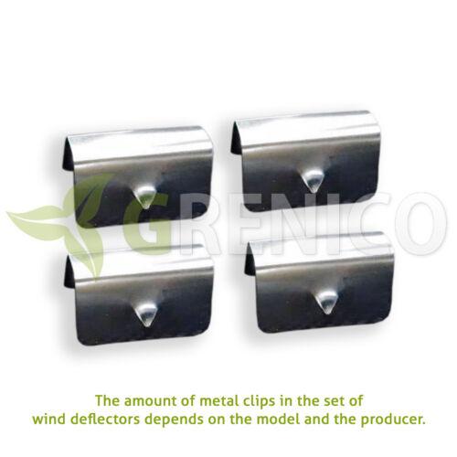 Toyota Rav4 mk3 5door SUV 2005-2012 wind deflectors 4pc HEKO TINTED