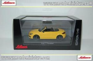 Audi-TT-Roadster-Yellow-SCHUCO-SC-04725-Echelle-1-43