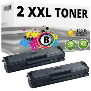 2x-XXL-Cartouche-De-Toner-Pour-Samsung-xpress-m2020-W-m2021-W-m2022-W-m2026-W-Set