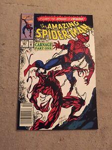 Amazing-Spiderman-361-1st-Carnage-1st-Print-Newsstand-Marvel-Comics-1992
