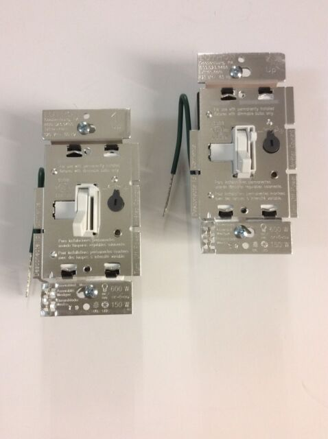 Lutron Tgcl 153ph Wh Single 3