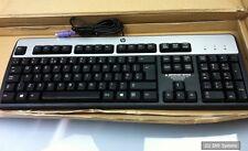 HP dz204av standard ps/2 Keyboard, TASTIERA, dt527a#abu, UK (QWERTY) BLACK, NUOVO