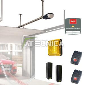 Kit apri porta garage box sezionale BFT TIZIANO motore automazione soffitto