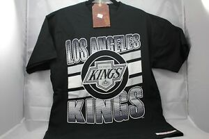 LOS-ANGELES-KINGS-T-SHIRT-MITCHELL-amp-NESS-NHL-VINTAGE-HOCKEY
