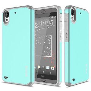 HTC-Desire-530-deseo-630-caso-de-Doble-Capa-Carcasa-A-Prueba-De-Golpes-Protector-de-pantalla