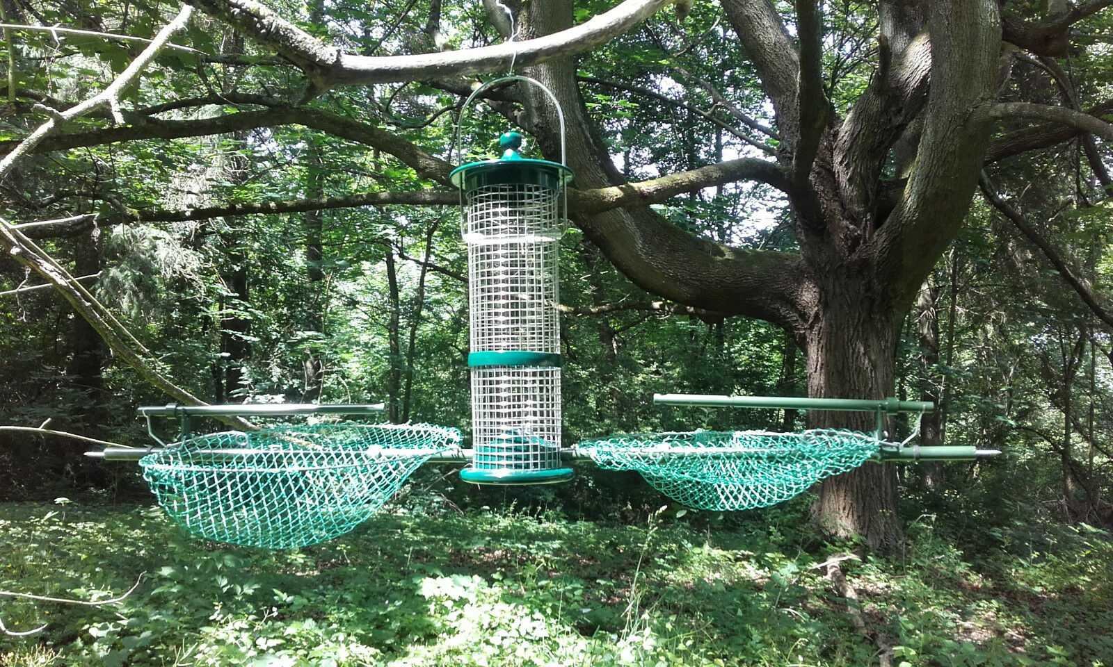 Kombi Vogelfalle Trappola Uccelli Piege Oiseaux Bird Trap Trampa Pajaros ALU