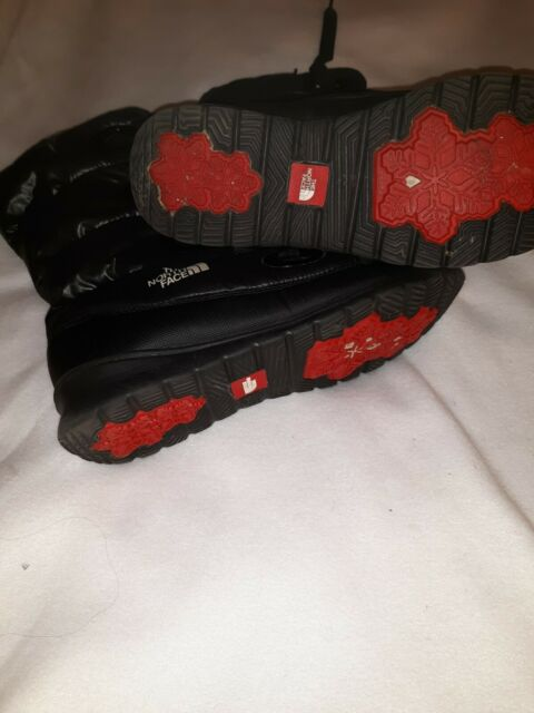 The North Face Women's Winter Snow Boots Goose Down Icepick Black Sz US 11.
