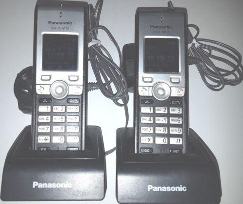 2x Panasonic KX-TCA175 DECT Telephones