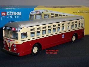 Corgi 54005 Gm4502 Nord Bergen Service Public Autobus Autobus Miniatures 32435540059
