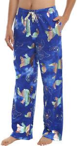 48f95ab5780f Licensed Disney LILO   STITCH Unisex HOLOGRAM Pajama Sleep Pants For ...