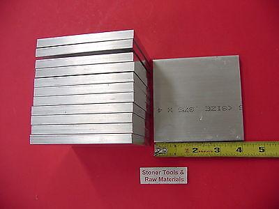 "2 Pieces 3//8/"" X 6/"" ALUMINUM 6061 FLAT BAR 8/"" long .375/"" Plate Mill Stock T6511"