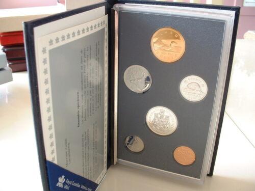 CANADA  1992  SPECIMEN  MINT SET  *** 6  COINS ***