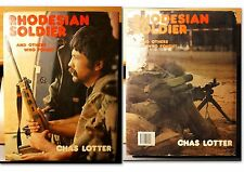 RHODESIAN SOLDIER by Chas Lotter, Hard cover, used (1984) - IN ENGLISH