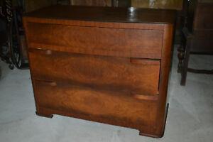 Beautiful Vtg Mid Century Art Deco Bedroom Dresser Kling Furniture Co