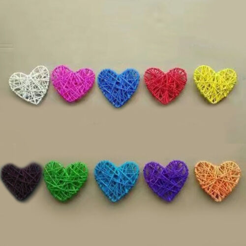 10CM 10 colores nuevo arribo Corazón Navidad Cumpleaños Fiesta /& Home Boda Fiesta