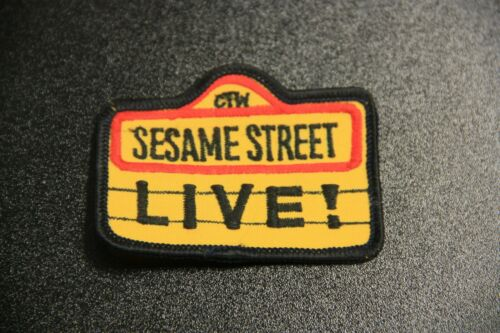 Vintage Sesame Street and Muppets Buttons Patch NoveltyYou Pick