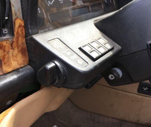 Jaguar XJ6 OEM Light Lamp Intensity Adjust Steering Column Control Knob Switch