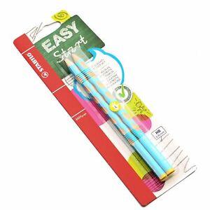 2-x-Stabilo-Easygraph-Graphite-Handwriting-Pencils-3-15mm-Left-Light-Blue