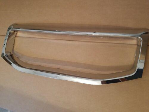fits 2012-2015 PILOT Front Bumper Upper Chrome Grille Molding Surround Trim NEW