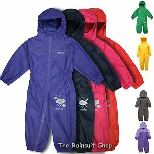 REGATTA-PUDDLE-SUIT-KIDS-BREATHABLE-WATERPROOF-ALL-IN-ONE-RAINSUIT-CHILD-SUIT