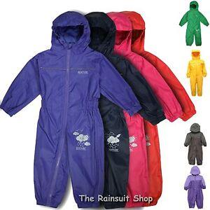 Regatta-Flaque-Costume-Enfants-Impermeable-Respirant-Tout-En-Un-Rainsuit-Enfants-Costume