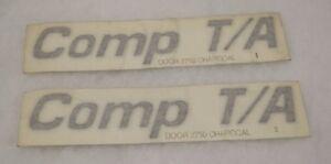 2-OEM-GM-SLP-1995-1997-Pontiac-COMP-T-A-Door-Emblems-NOS-ORIGINAL-NEW-ITEMS