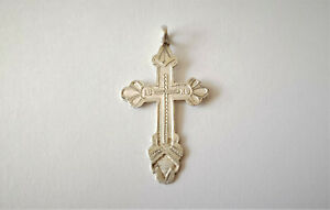 ANTIQUE-SOLID-SILVER-84-RUSSIAN-ORTHODOX-CROSS-PENDANT