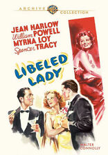 LIBELED LADY (Jean Harlow, William Powell)  - DVD - Region Free - Sealed