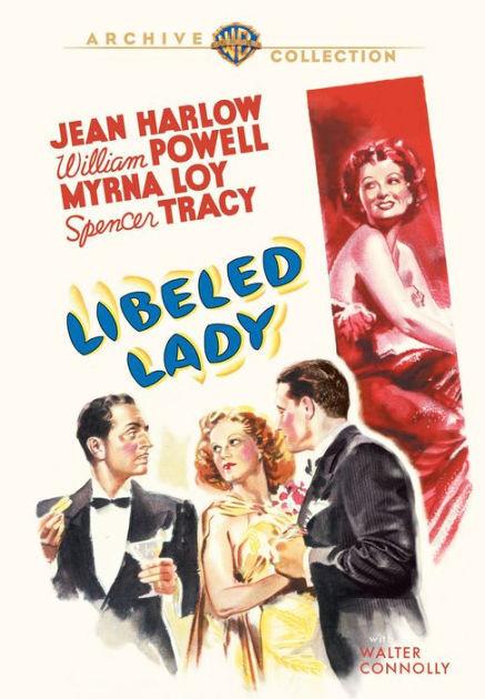 diffamé LADY (Jean Harlow, William Powell) - DVD - Sans Zonage - Scellé