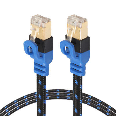 RJ45 CAT6 CAT7 Ethernet Network LAN Cable Flat UTP Patch Router Interesting Wire