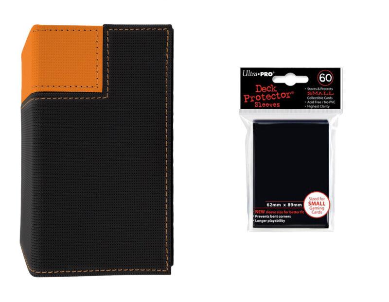 60 Deck protector sleeves-orange Ultra pro Deck box