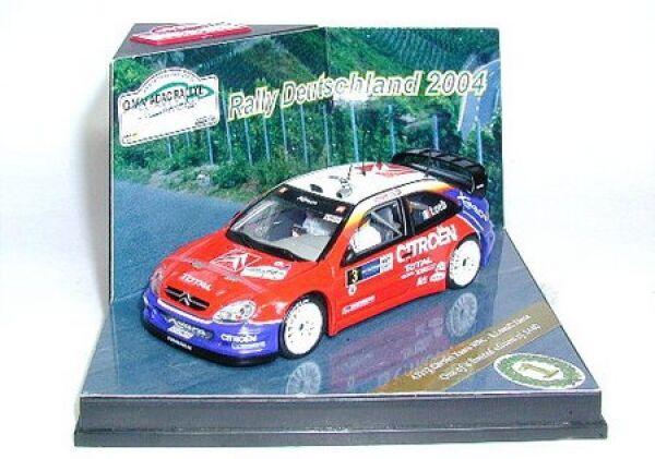 Citroen Xsara WRC No.3 S. LAGS   D. Elena Rally Germany 2004