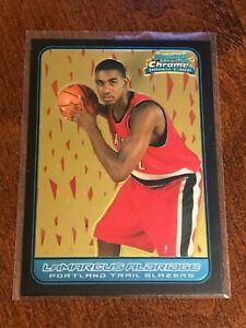 2006-07-Bowman-Chrome-Basketball-ROOKIE-LaMarcus-Aldridge-RC-TRAILBLAZERS