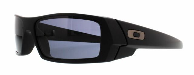 c59805f215 New Oakley 03-473 Gascan Sunglasses Matte Black   Grey Lenses Lenses