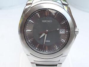 Watch / Horloge Seiko 100M Quartz Men's watch 7N42-0BT0