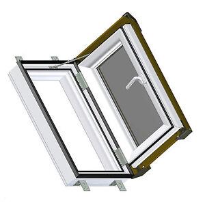 Skylight velux kunststoff dachfenster ausstiegsfenster dachluke dachausstieg ebay - Dachfenster skylight ...