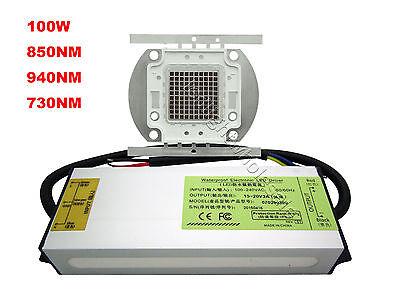 690nm 730nm 850nm 940nm Infrared IR 10W 20W 30W 50W 100W High Power LED Light