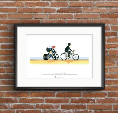Keirin Sir Chris Hoy London 2012 Olympics ART POSTER A3 size