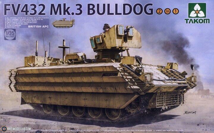 BLINDE BRITANNIQUE FV432 Mk.3  BULLDOG  - KIT KIT KIT TAKOM INTERNATIONAL 1 35 n° 2067 574ebc