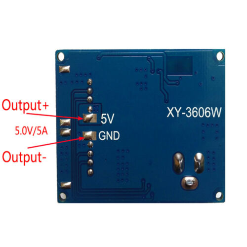 DC-DC 24V //12V to 5V Buck Power Supply Modul 5A Power Step Down Konverter