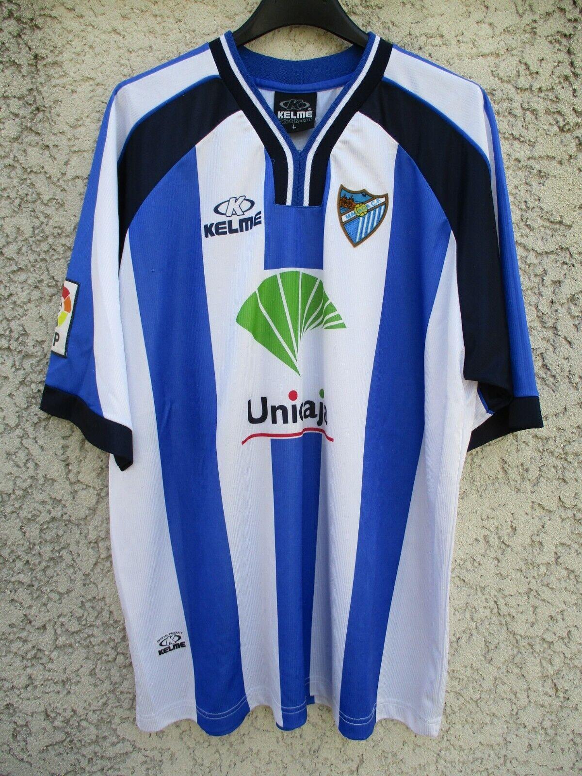Maillot MALAGA 1999 2000 KELME vintage shirt camiseta jersey trikot home L