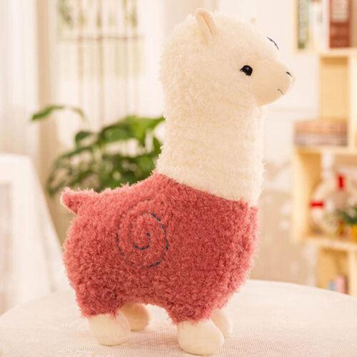 Alpaga Peluche Poupée Jouet Joli Mini Mouton Animal en Lama Coussin Cadeau