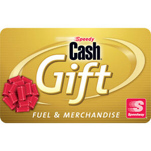 $100 Speedway Gas Gift Card - Mail Delivery | eBay