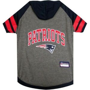 New-England-Patriots-NFL-Pets-First-Sporty-Dog-Pet-Hoodie-Tee-Shirt-Sizes-XS-L