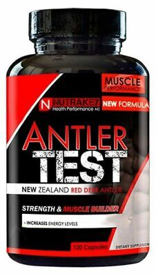 AKA Repp Sports Ant Test Testosterone Booster 120 Caps Nutrakay Antler Test