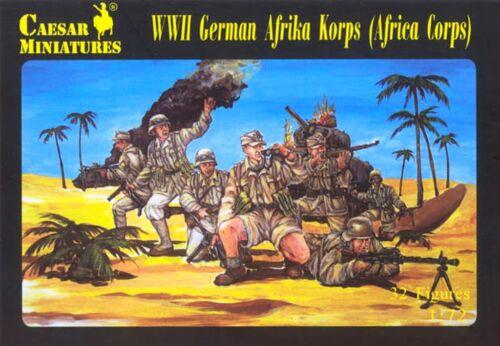 Soldatini 1//72 Caesar Miniatures H070 WWII German Afrika Korps