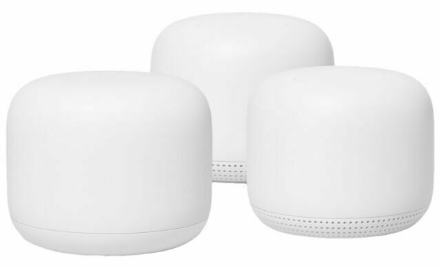Google Nest Wifi Router and 2 Points - Snow. Buy it now for 269.99