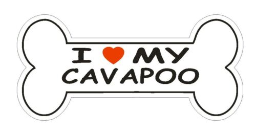 Love My Cavapoo Bumper Sticker or Helmet Sticker D1170 Dog Lover Pet