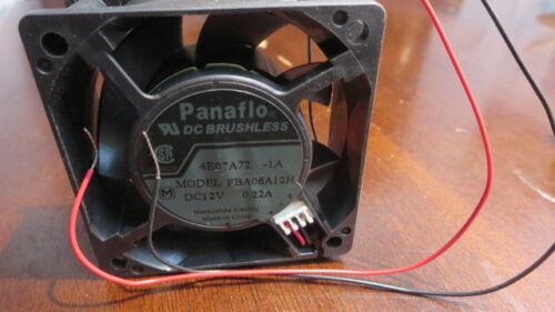 Panaflo  FBA06A12H Fan 12V 0.22A 60*60